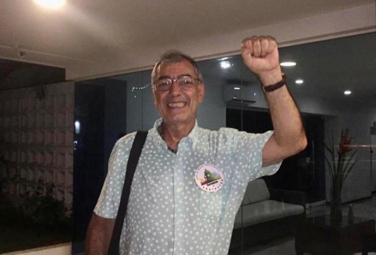 El segundo en votaciones, William García no aceptó curul de oposición.