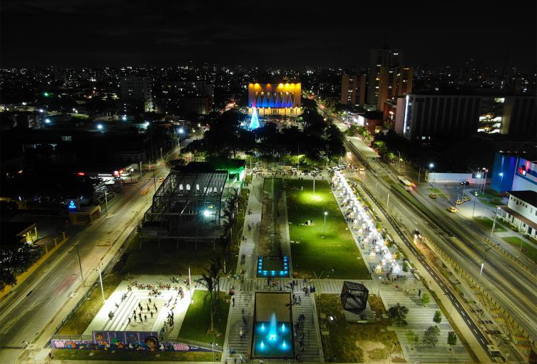 Plaza de la paz Barranquilla