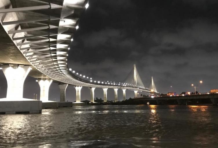 Inauguración Puente Pumarejo