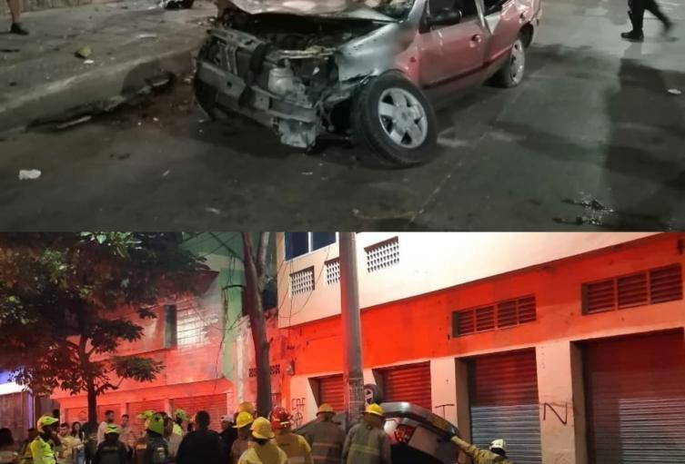 Accidente Barranquilla Tránsito