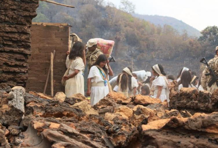 Por crisis económica los indígenas están retornando a los resguardos en la Sierra Nevada