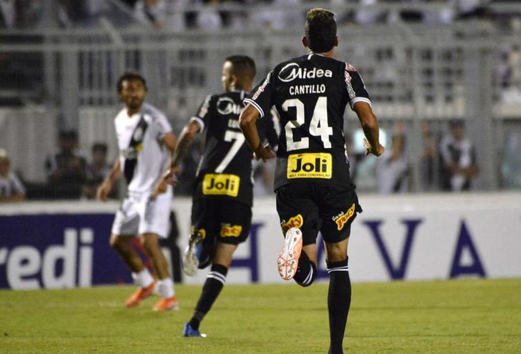 Víctor Cantillo debutó con Corinthians.