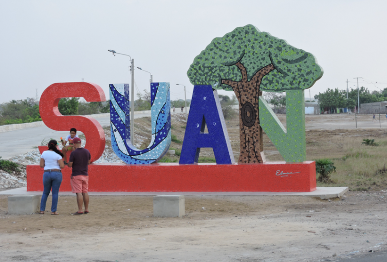 El municipio de Suan está ubicado en el sur del Atlántico.