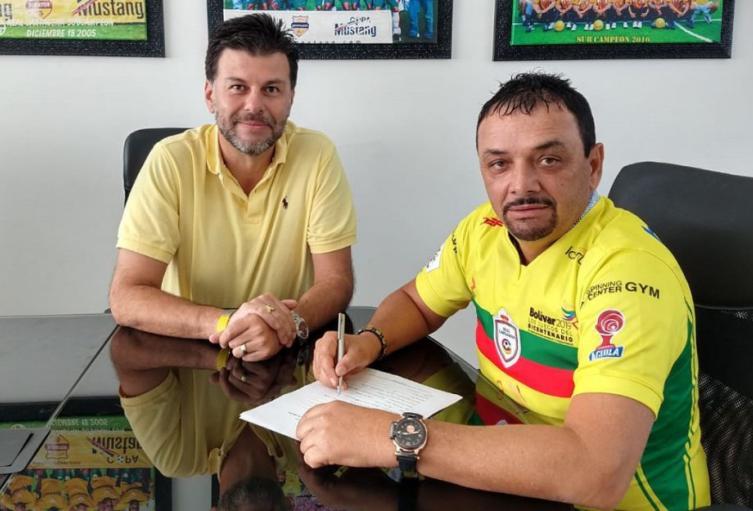 Richard Parra, ex técnico de Real Cartagena