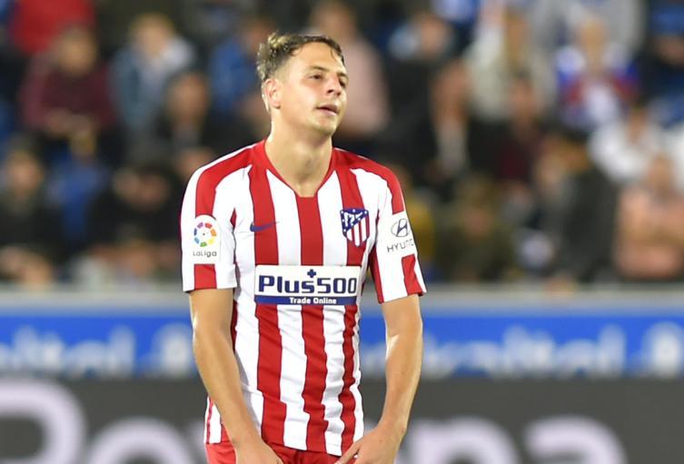 Santiago Arias, jugador colombiano del Atlético de Madrid