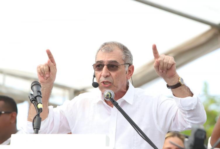 El mandatario se posesionó en una ceremonia realizada en La Perimetral.