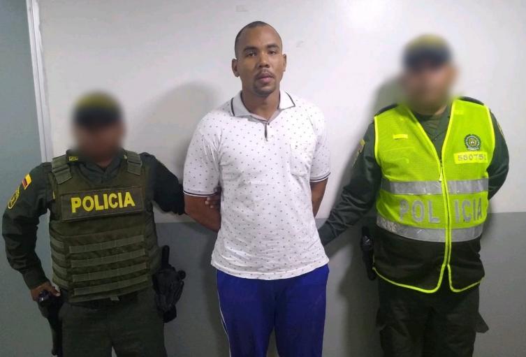 El capturado fue llevado a la URI de la Fiscalía de Barranquilla.