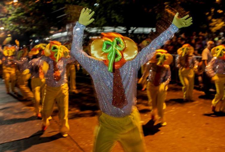Noche de Guacherna, antes del Carnaval de Barranquilla.
