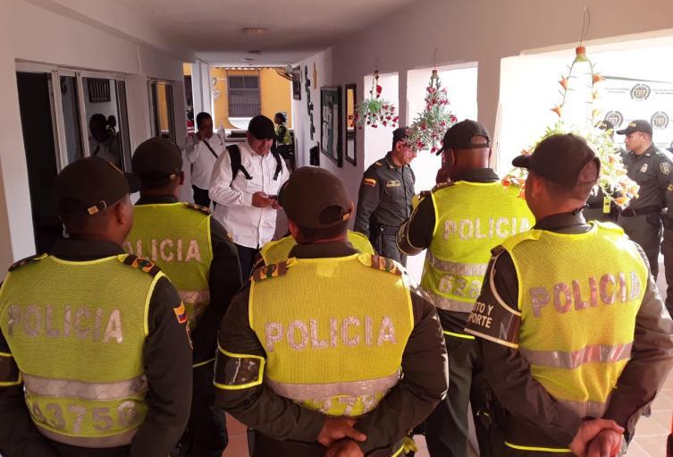 En manos de los uniformados está la seguridad de los alcaldes
