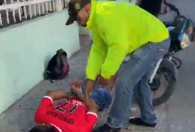 Lo agarraron por extorsionar a un universitario en Cartagena