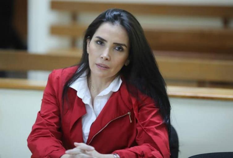 Excongresista colombiana