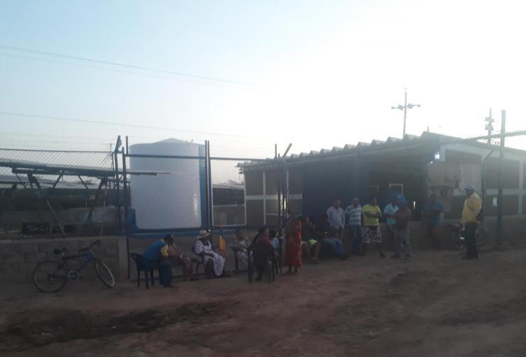 cerca de 6 meses completan sin agua la comunidad de Shiruria en Manaure