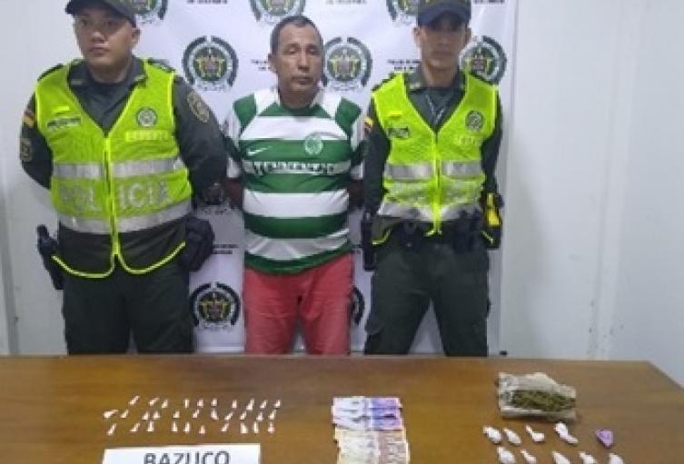 Presunto distribuidor de droga del Cesar.