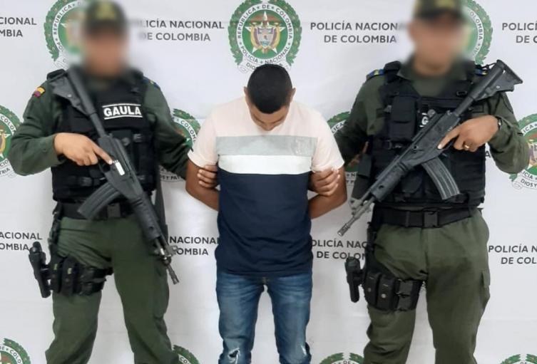 La captura se llevó a cabo en Montería