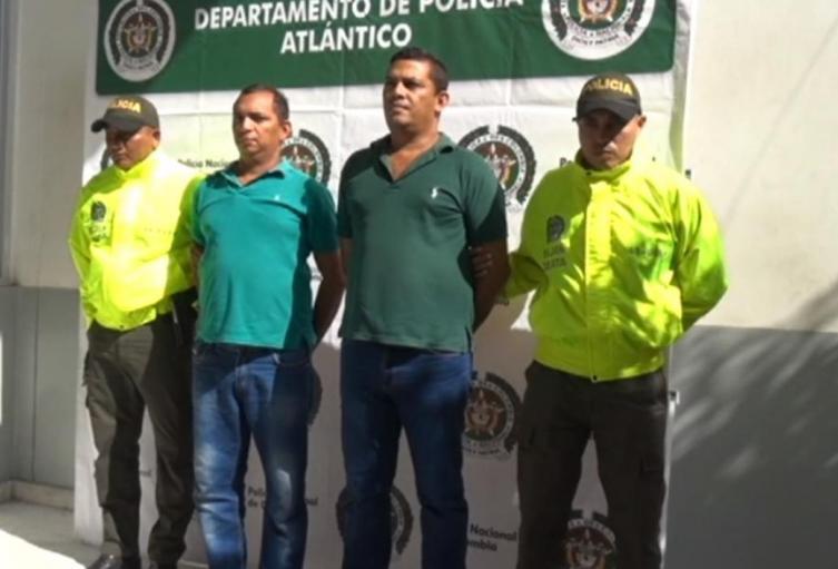 Los capturados fueron enviados a la cárcel Modelo de Barranquilla.