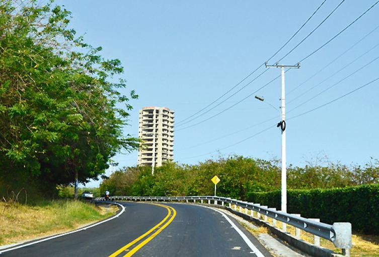 El accidente se registró en la vía al municipio de Puerto Colombia.