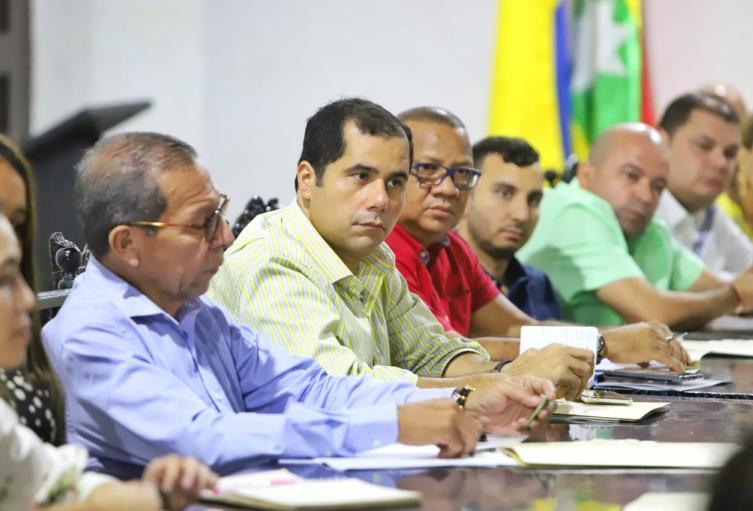Primera reunión Oficial Alcalde y Concejales