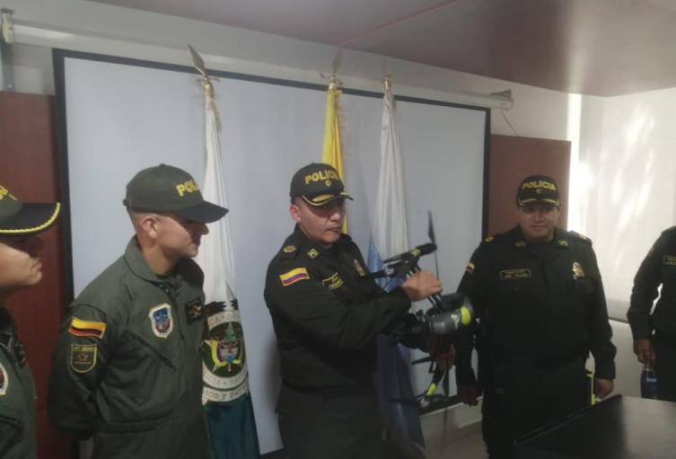 Comandante Policía Metropolitana de Santa Marta