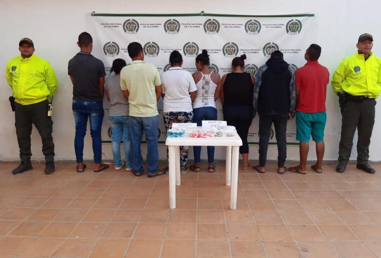 Desarticulan banda de narcotraficantes
