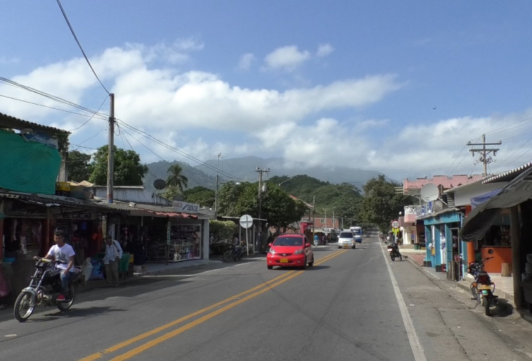 Zona rural entre La Guajira y Magdalena