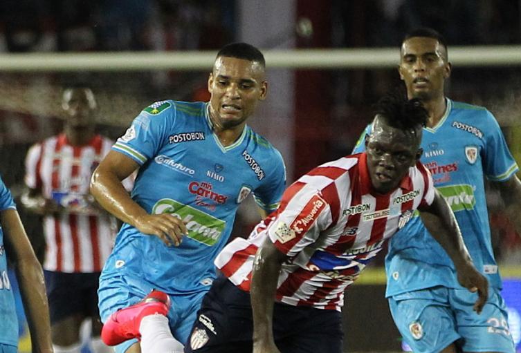 Junior vs Jaguares, Liga Betplay