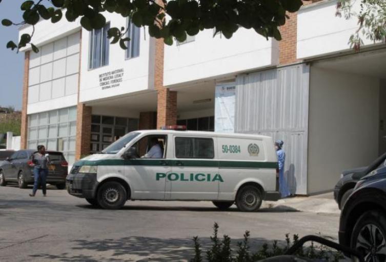 Los cuerpos fueron ingresados a la morgue