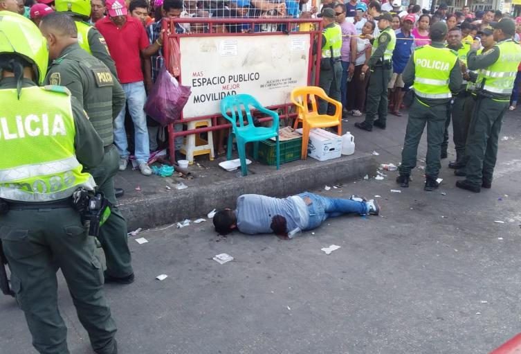 Matan Mototaxista en el Mercado