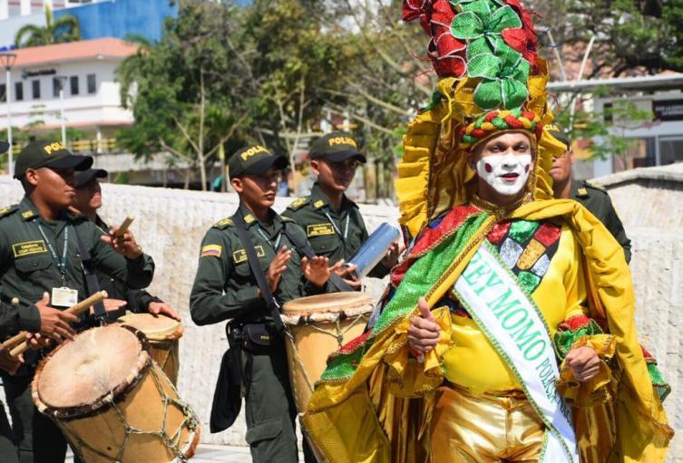 La policía metropolitana de Santa Marta reporto mas de 100 riñas en Carnaval