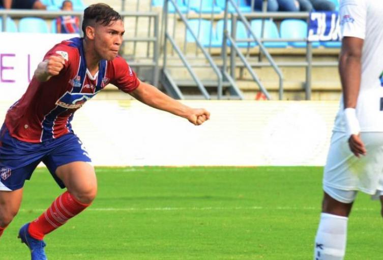 El goleador del Unión Magdalena está en sequia por estos días.
