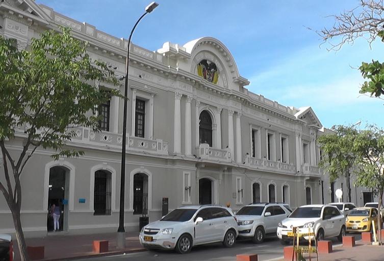 Palacio administrativo de Santa Marta