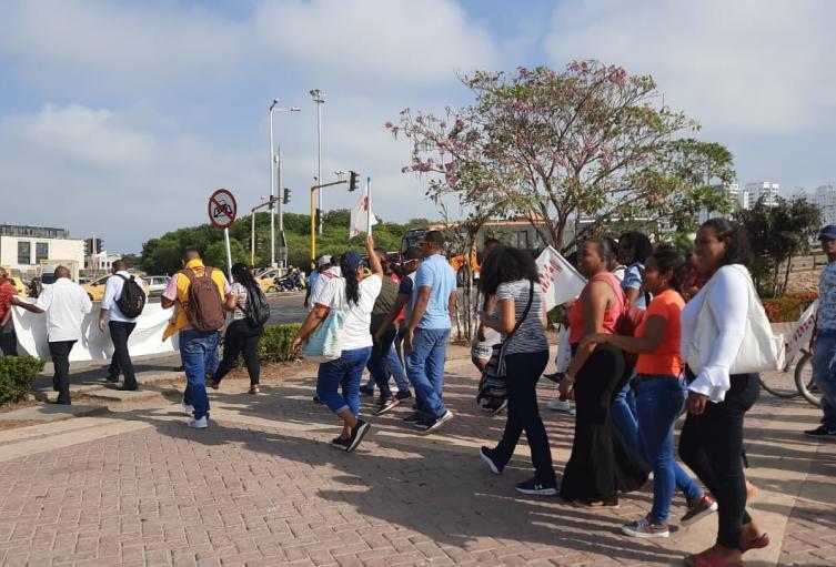 protesta vigilantes