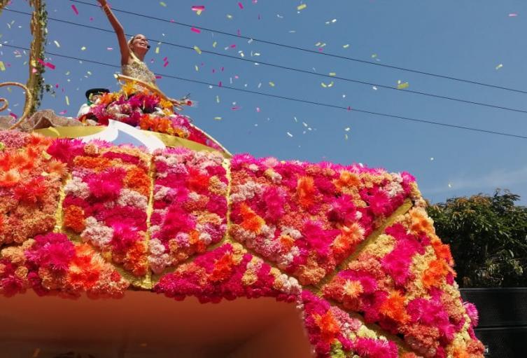 Carnaval batalla de flores