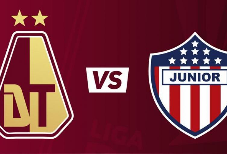 Tolima vs Junior 7:30 p.m. Fecha 6