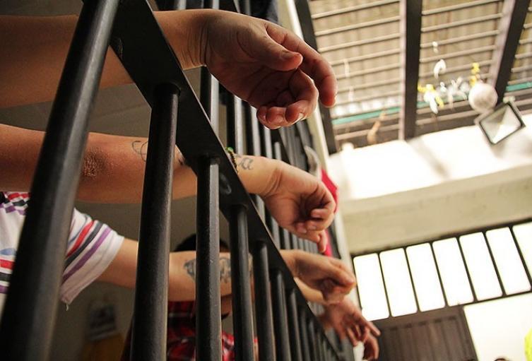 Celda en estación de policía