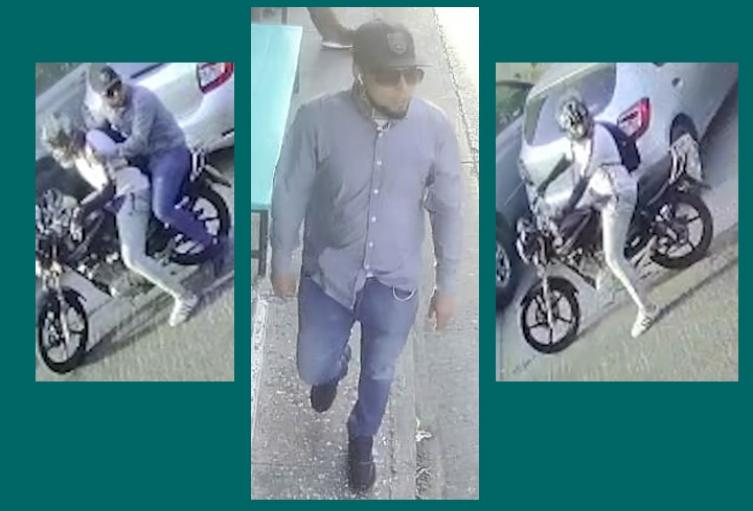 En un lugar donde está prohibida la circulación de motos con parrilleros hombre, atracaron