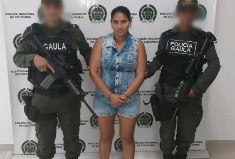 """Esta mujer haría parte de una organización ilegal llamada """"El Penal"""""""