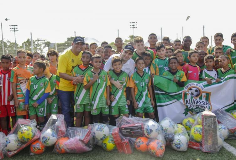 7 mil niños de diferentes clubes de Cartagena, podrán disfrutar de este complejo deportivo, que será administrado por el IDERBOL