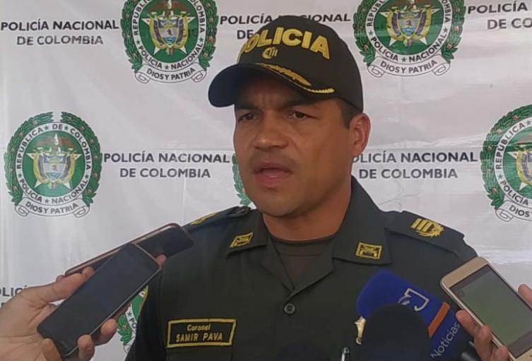 Policia del Magdalena, Zamir Pava, cuarentena