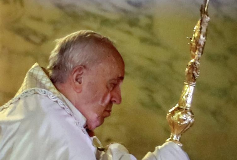 Bendición Papa Francisco, en Roma.