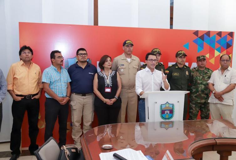 Autoridades del Magdalena se unieron para tomar diversas restricciones, como cierre de playas y algunos sitios públicos