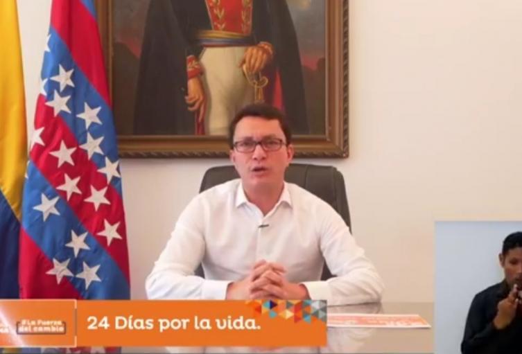 El gobernador pidió a Duque confiar en los mandatarios territoriales