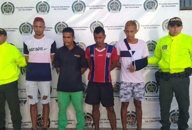 Autoridades desarticularon en Santa Marta, banda delincuencial Los Abuelos.