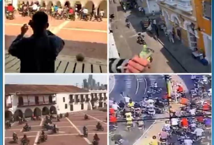 Protestaron en los bajos de la Alcaldía