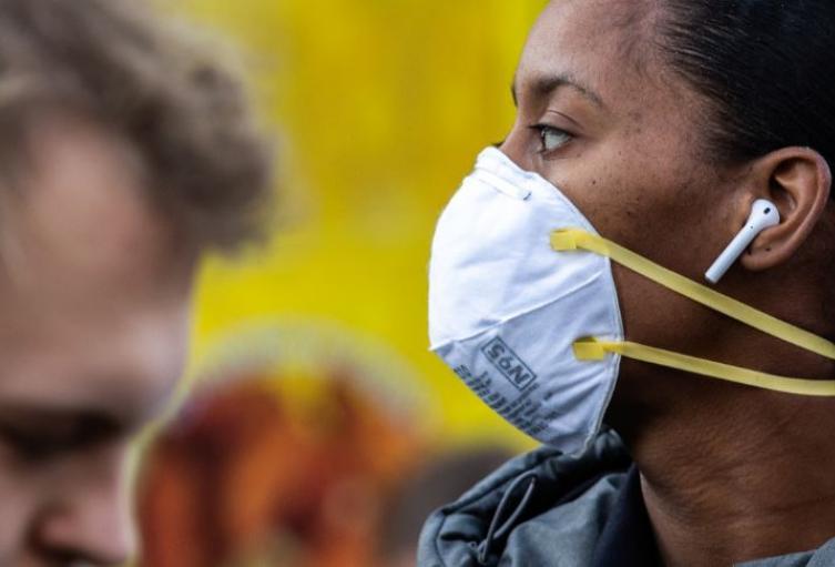 Coronavirus mascara y tapabocas