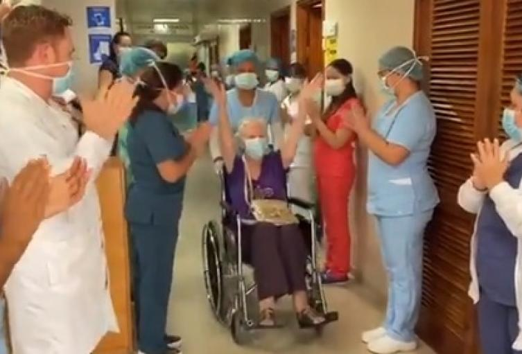 Duró hospitalizada más de 20 días en la Clínica Medihelp Services