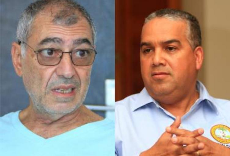 Pedrito Pereira y William Dau