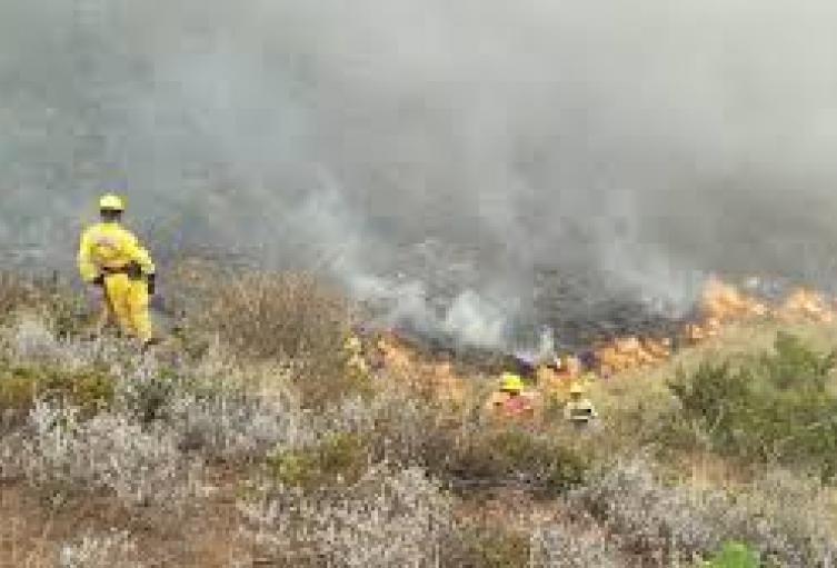 las fuentes hidrícas que resutaron afectadas por el incendio, provocan cortes del servicio de agua