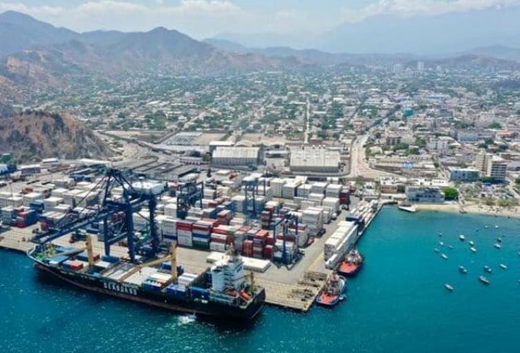 Puerto de Santa Marta, alimentos