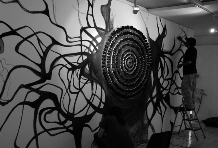 'Umbrales' es la primera exposición de la temporada 2020 del Museo Bolivariano de Arte Contemporáneo-Quinta de San Pedro Alejandrino