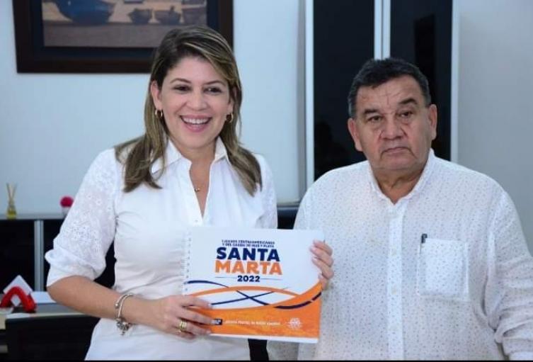 Santa Marta por los Juegos Centroamericanos de Mar y Playa 2022